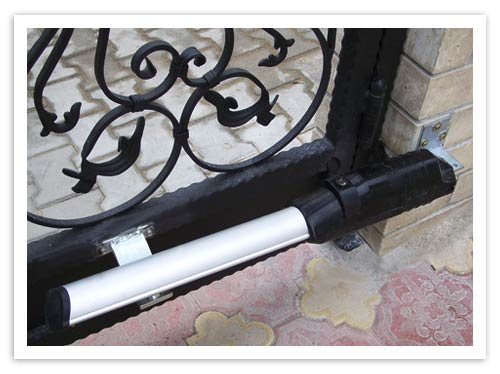 Dairesel açılır bahçe kapısı motorları ahşap alüminyum veya